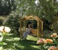 Garden Arbour with Swing Seat - PERDART